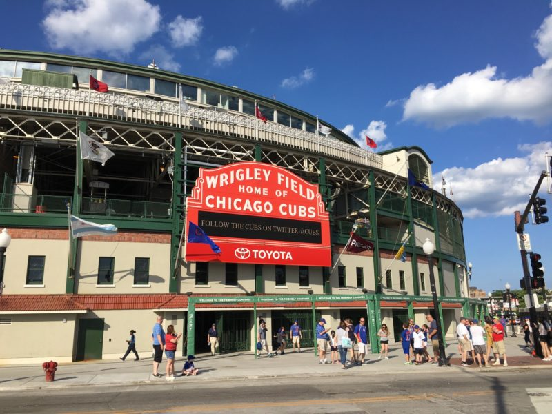 Top 4 Fun Things to do in Chicago - Wrigley Field