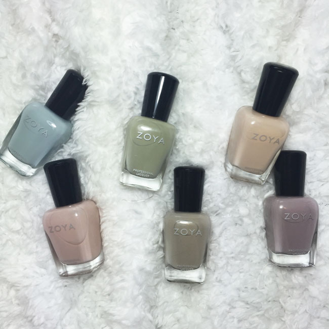 zoya whispers collection 2016