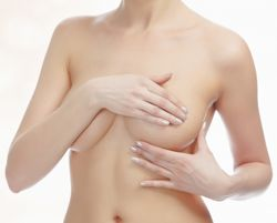 massaging breasts to increase breast size