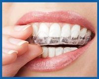 Teeth whitening tray for sensitive teath