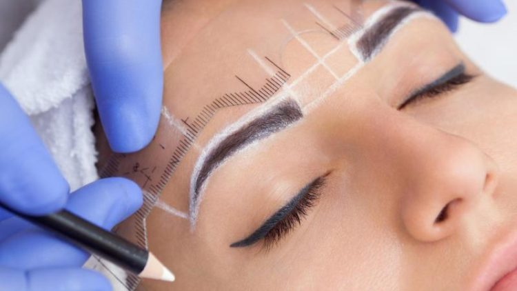 Eyebrow Microblading: Before and After