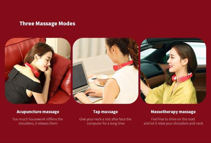 inteligent neck massager