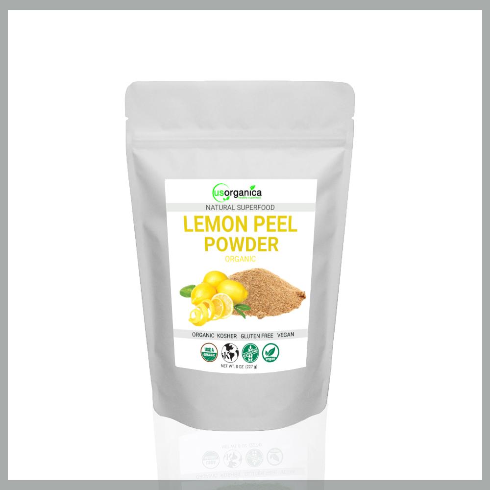 lemon peel powder for weight loss