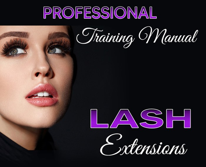 best Eyelash Extension training manual book for teachers and students