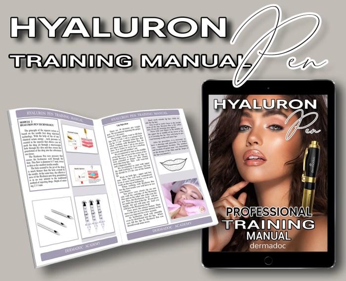 best cheap usa Hyaluron Pen training manual Book