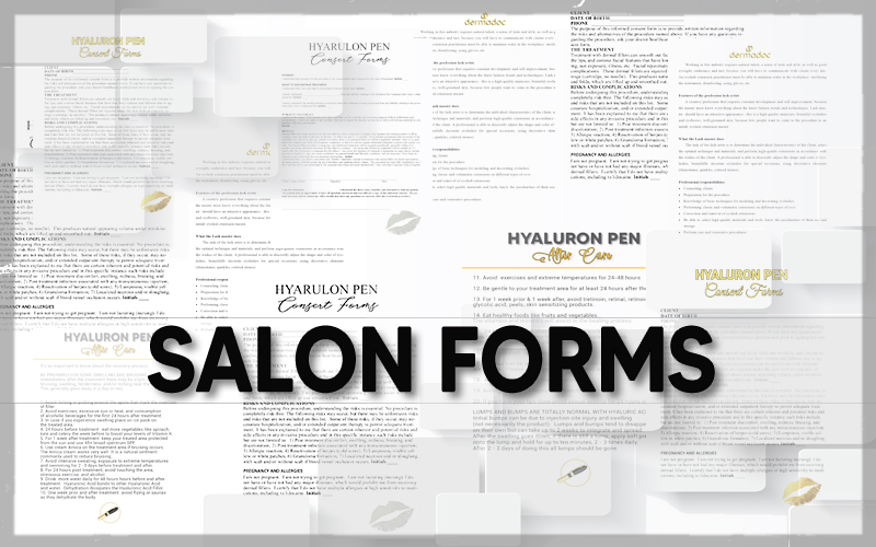 best USA consent forms for estheticians and   beauty salons
