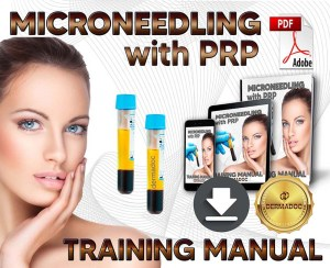 best online Microneedling with PRP training manual UK and Australia