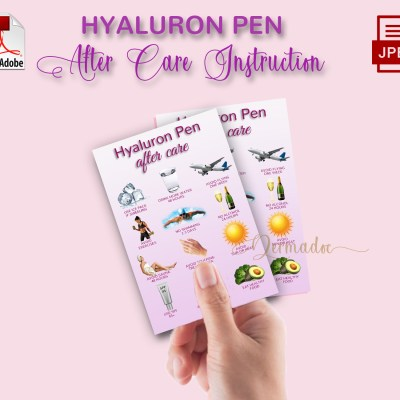 Hyaluron Pen Aftercare best usa card