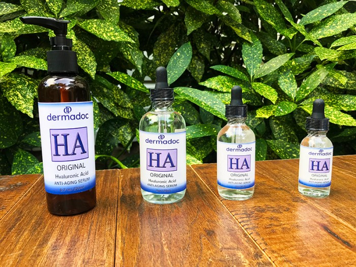 USA Homemade Hyaluronic Acid Anti Aging