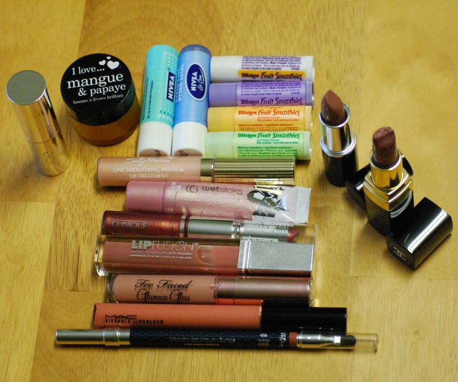 Mes tiroirs à makeup… les lèvres