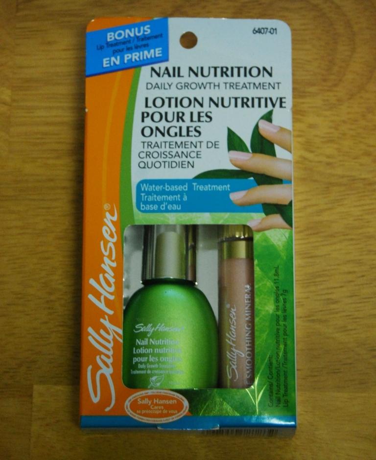 Sally Hansen, kit nutrition ongles et lèvres