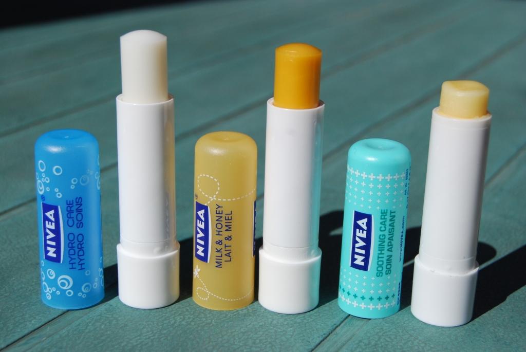 Sticks Nivéa pour les lèvres