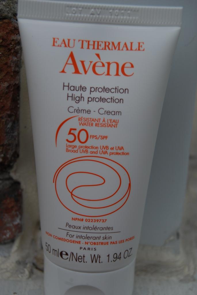 Crème solaire Avène… oui, mais…