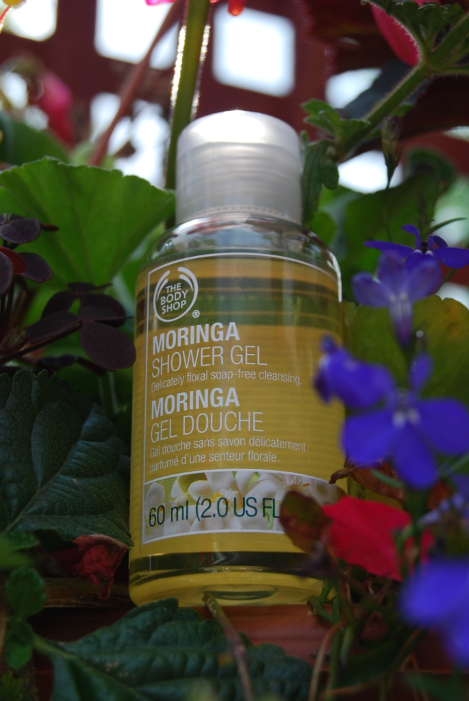 TBS gel douche moringa