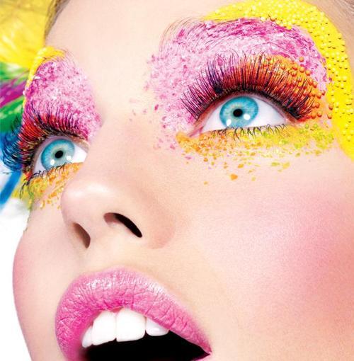 Défi du lundi relevé! maquillages artistiques