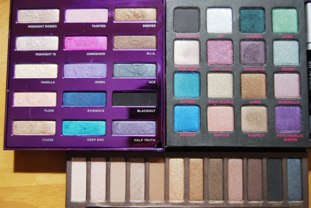 Urban Decay comparaison fards neutres