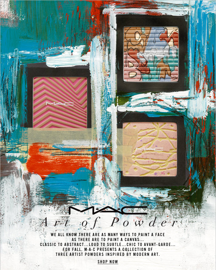 MAC collection Art of Powder