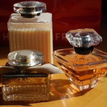 Défi du lundi relevé! mes parfums…