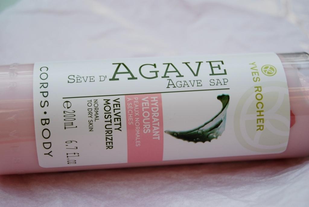 Yves Rocher – hydratant velours à la sève d'agave