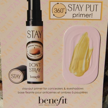 Stay don't stray, ma première déception Benefit