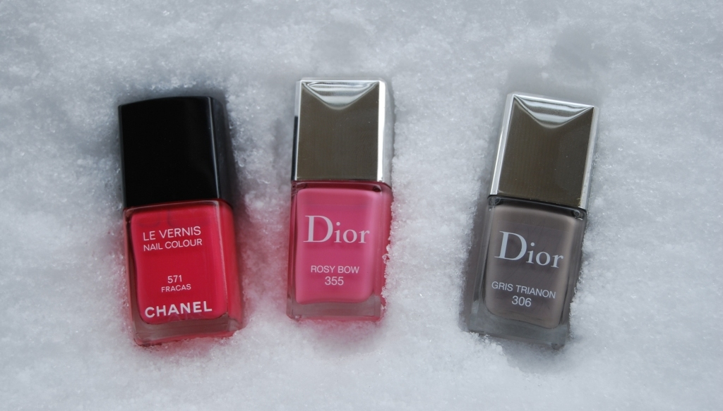 Tendres vernis printaniers [Chanel & Dior]