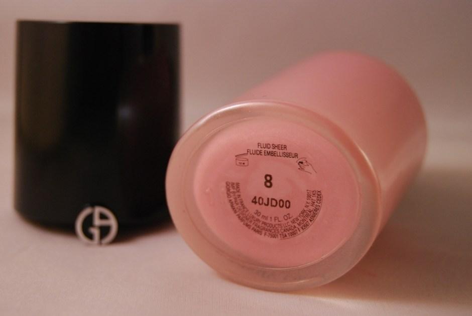 Armani Fluid Sheer 2