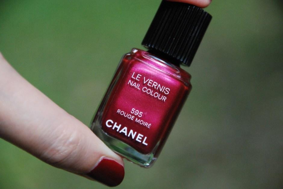 Chanel Rouge Moiré 1