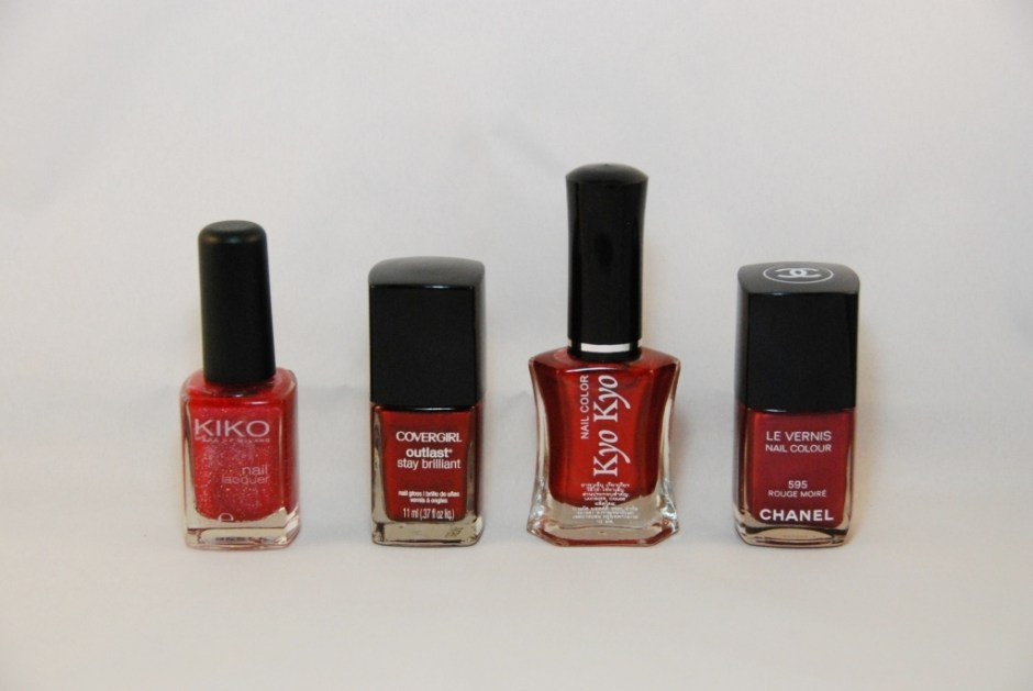 Vernis rouges 3
