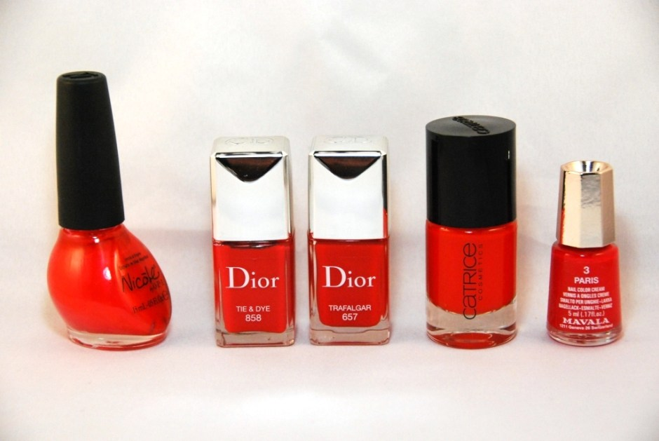 Vernis rouges 4
