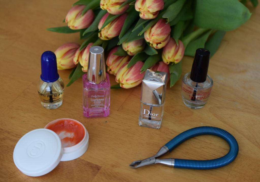 Le défi du lundi: soins des ongles