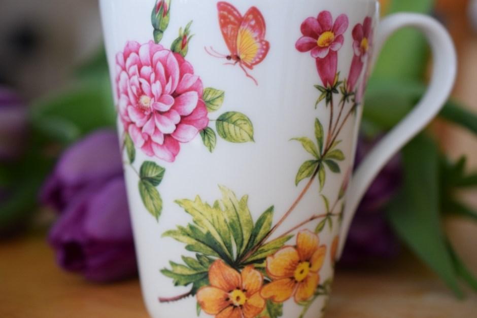 6 mug fleurs