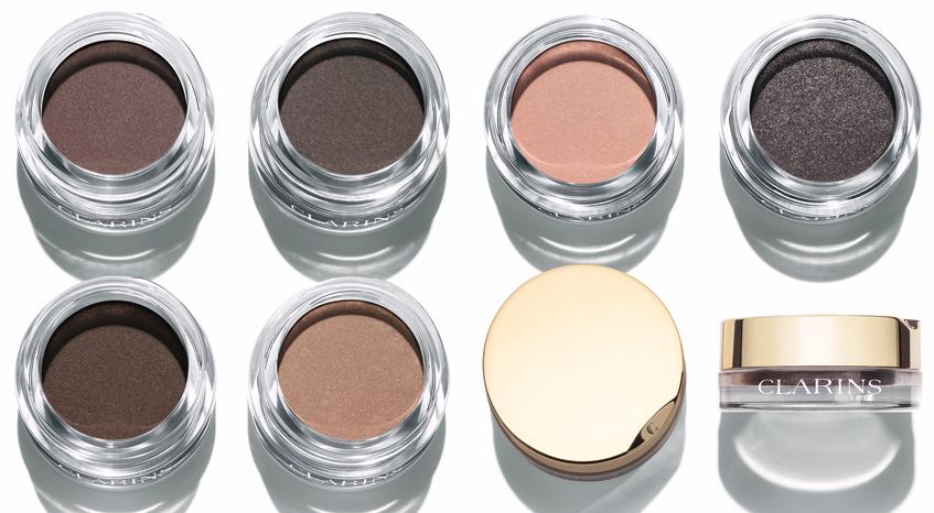Clarins Ombre Matte eyeshadows cream to powder