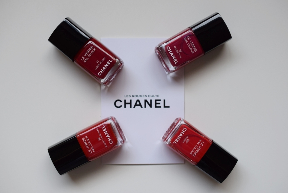 Chanel Vernis rouges culte