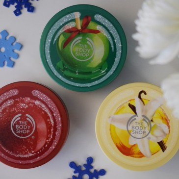 The Body Shop – Beurres corporels – éditions limitées Noël 2014