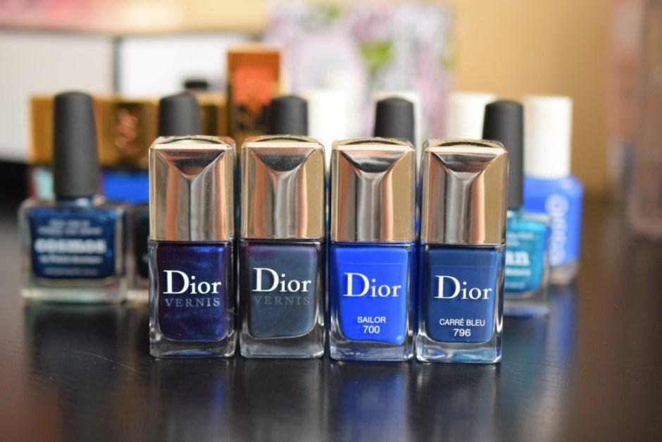 Vernis bleus 2 Dior