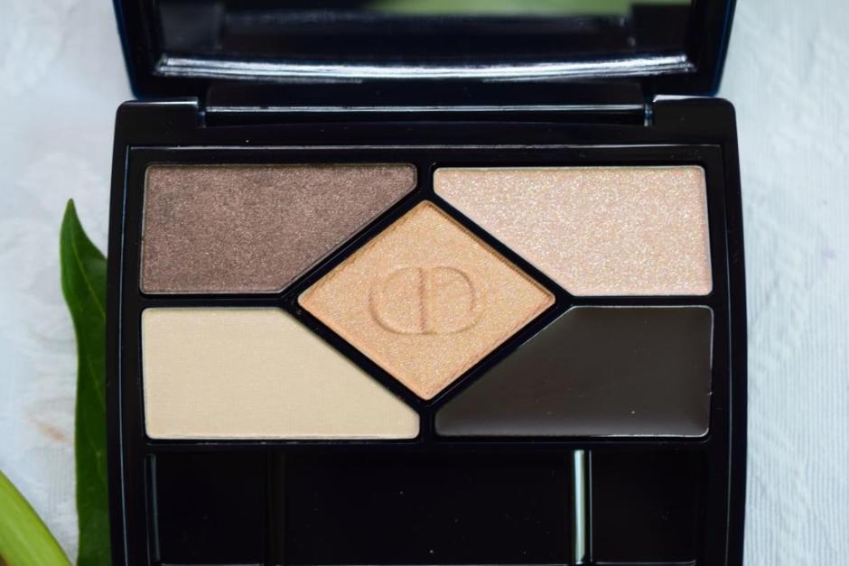 Dior palette 708 Amber Design 2