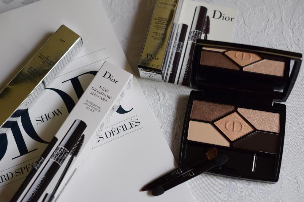 Dior palette 708 Amber Design