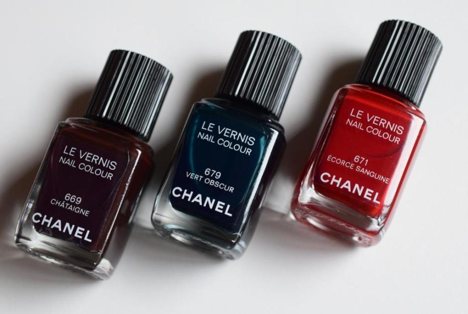 Chanel Les Automnales collection 2 vernis