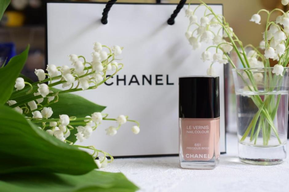 Chanel vernis Beige
