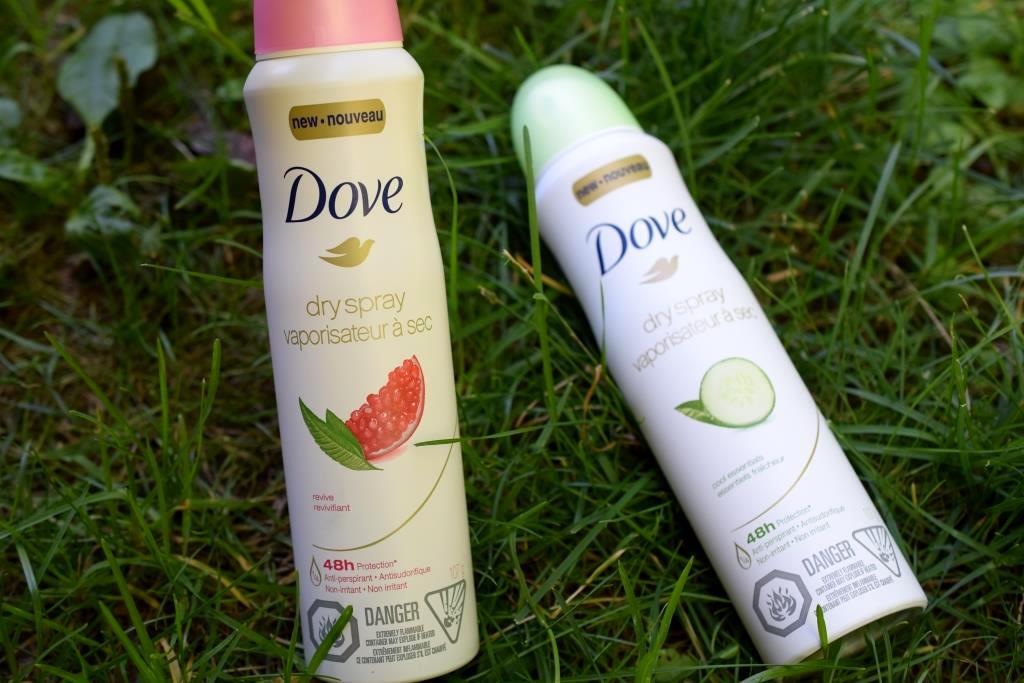 Déodorant Dove vaporisateur à sec