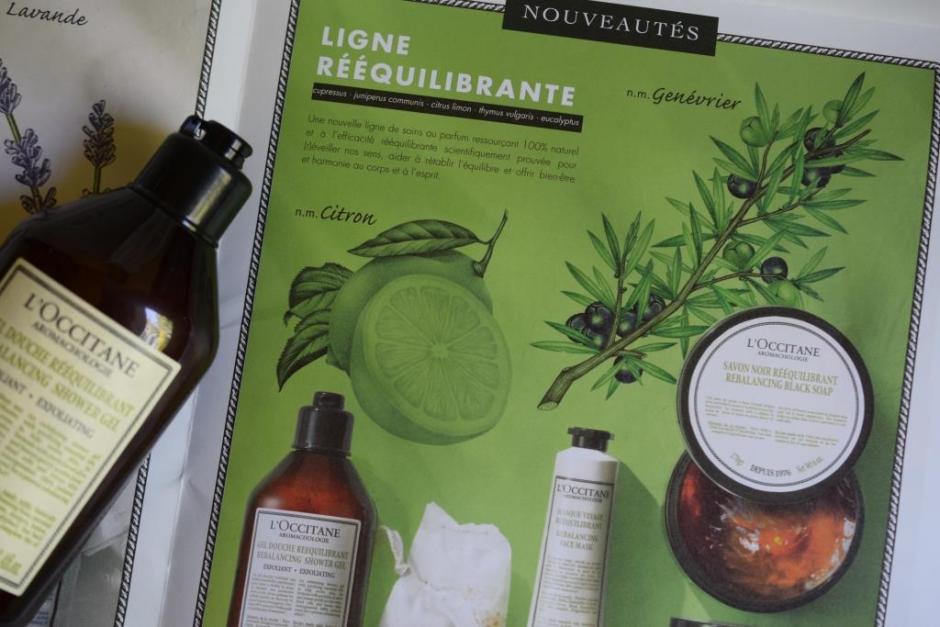 L Occitane aromachologie gel douche rééquilibrant 3