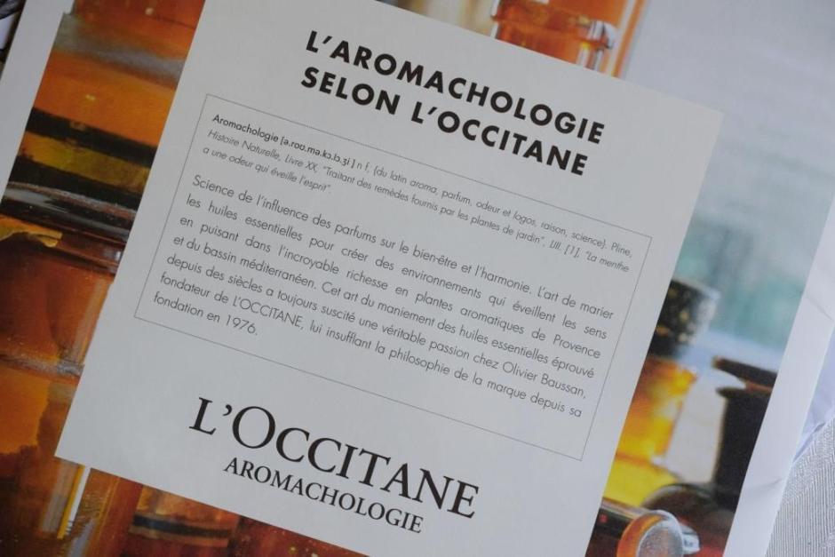 L Occitane aromachologie gel douche rééquilibrant 7
