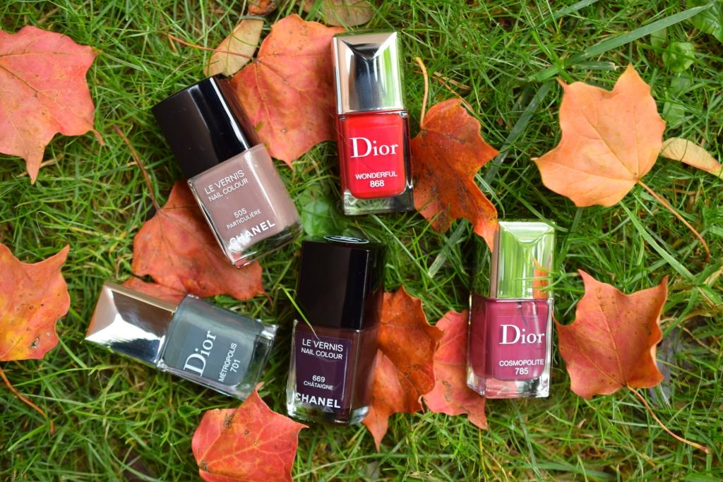 Le défi du lundi: vernis d'automne