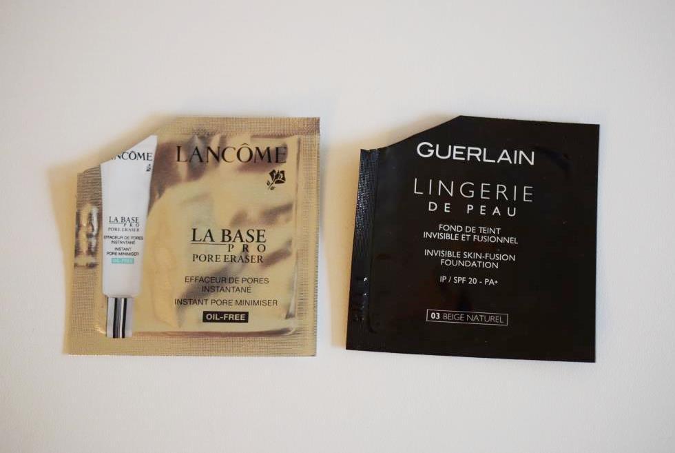 Lancôme La Base - Guerlain Lingerie de Peau
