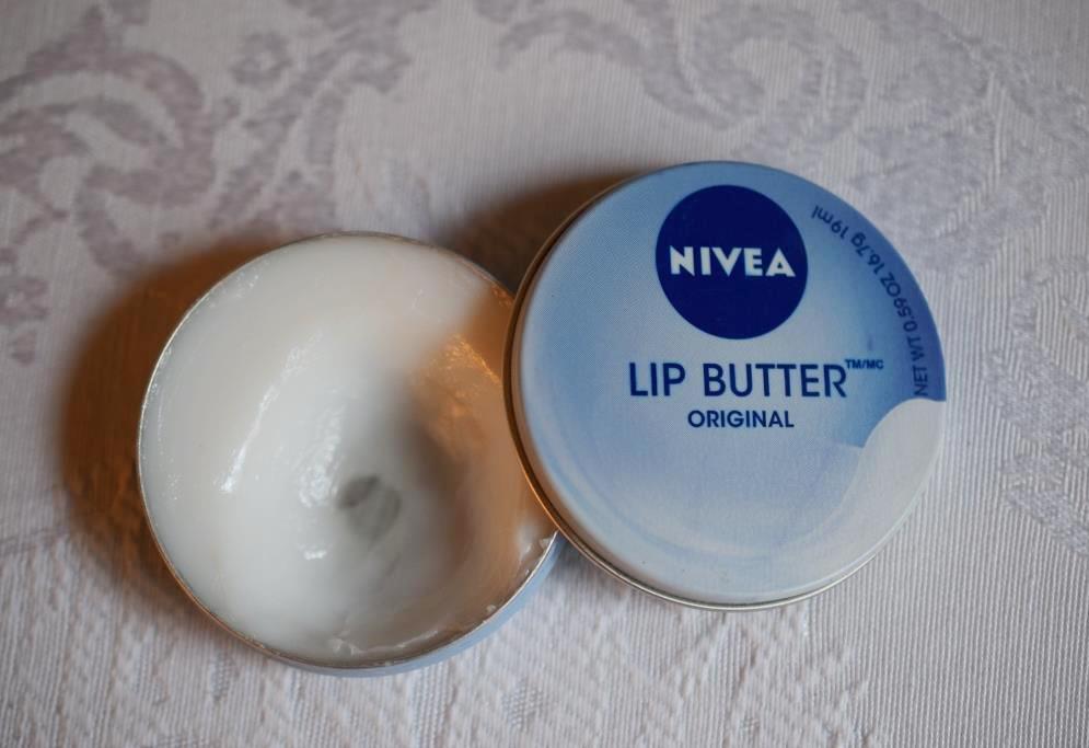 Routine soins matin 2 7 Nivéa beurre lèvres