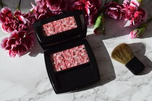 CHANEL Blush Tweed Cherry Blossom
