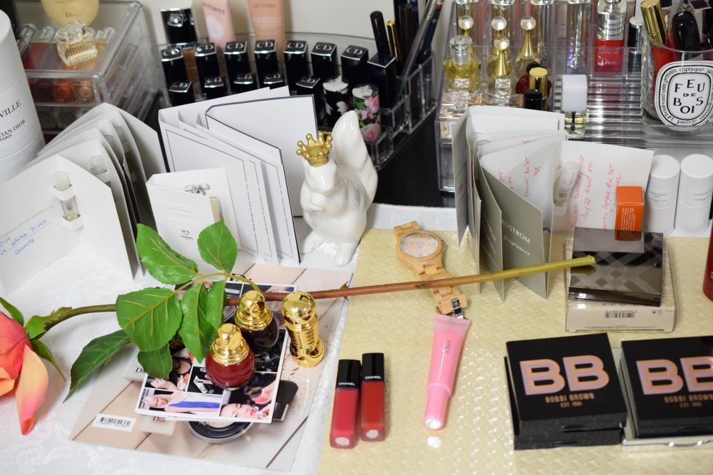 garde-robe de maquillage Makeup Wardrobe