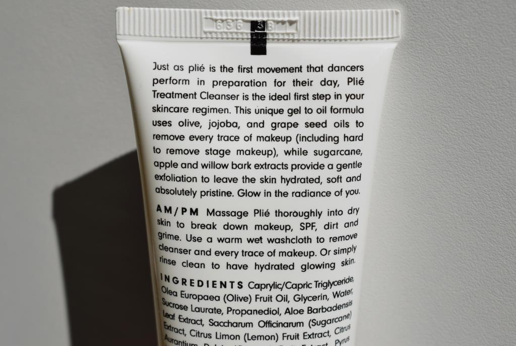 Jordan Samuel Plié cleanser treatment