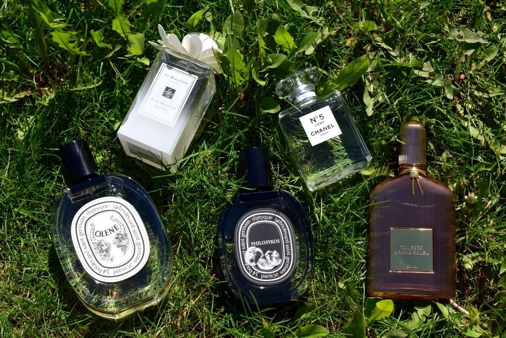 Mes parfums du moment (printemps-été 2017)