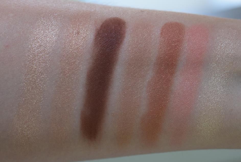 Charlotte Tilbury palette Instant Look - Beauty Glow swatch